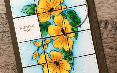 Missing You Colorful Season Card