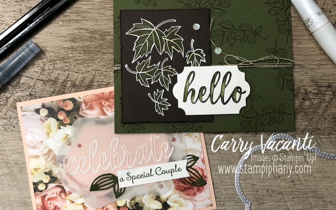 Quick and Simple Blended Season Cards