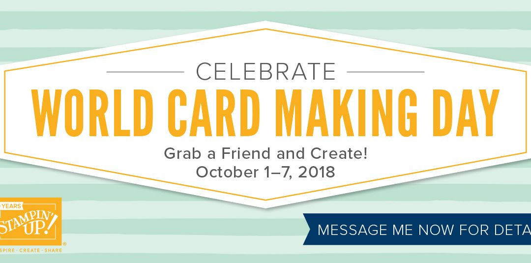 World Card Making Day Sales Event