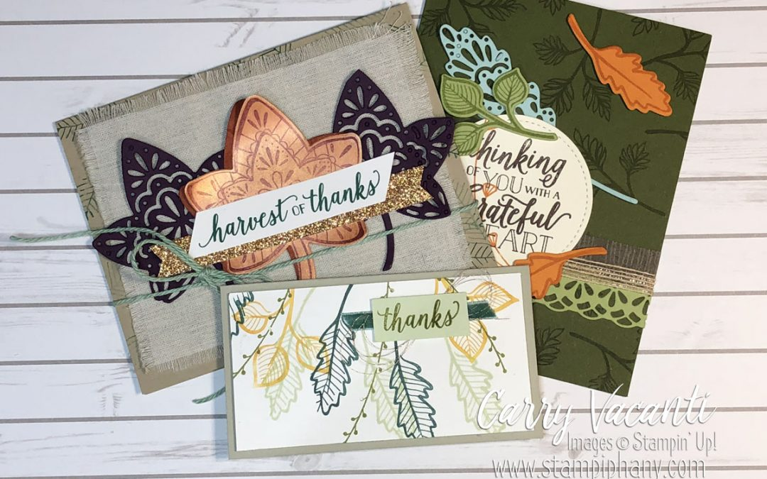 Workshop Wednesday – Falling for Leaves