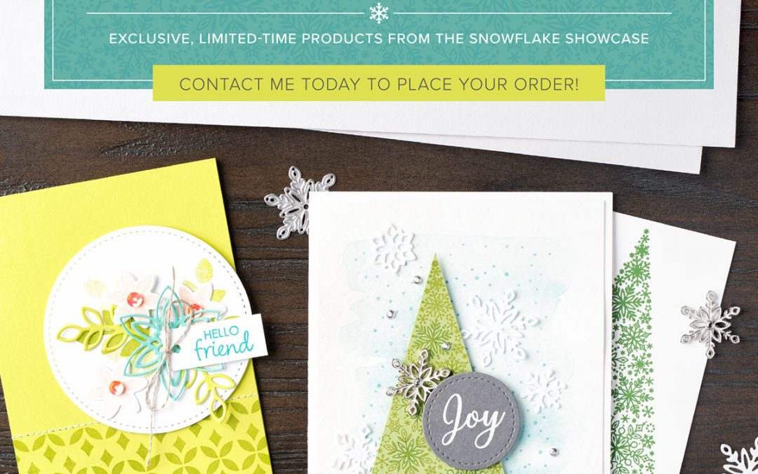 Snowflake Showcase Special Offer Ends Soon