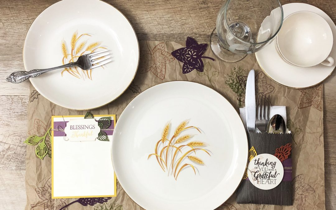 Make a Quick Place Setting