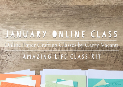 January 2019 Online Class