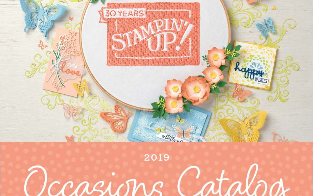 2019 Occasions Mini Catalog Walk Through