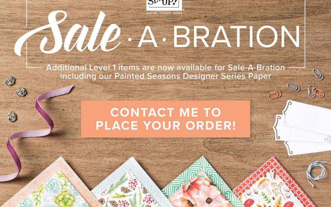 Let's Sale-a-brate!