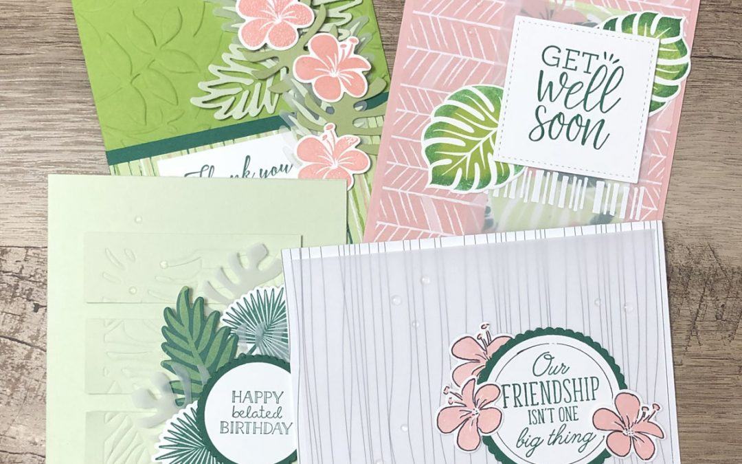 Hit the Tropics, Paper Crafting Chic Style