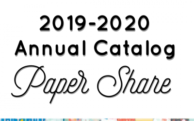 New 2019-2020 Annual Catalog Paper Share