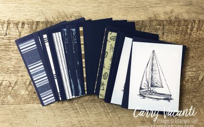 Come Sail Away Memories and More….Blink Cards
