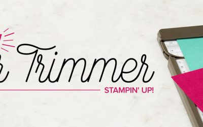 Check Out the New Stampin' Trimmer