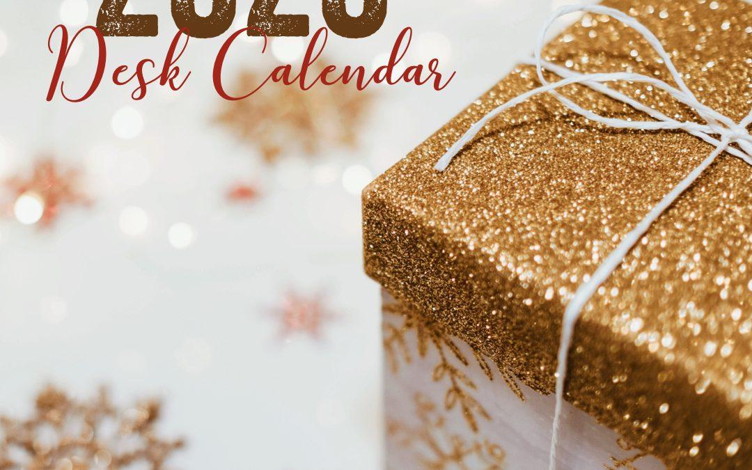 Time to Register for the 2020 Desk Calendar Camp