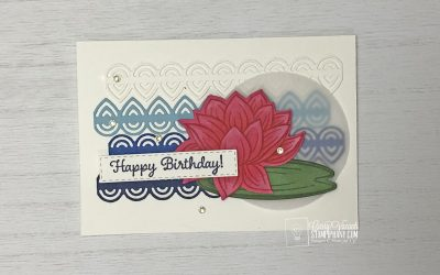 Make your stamped images and die cuts….pop!