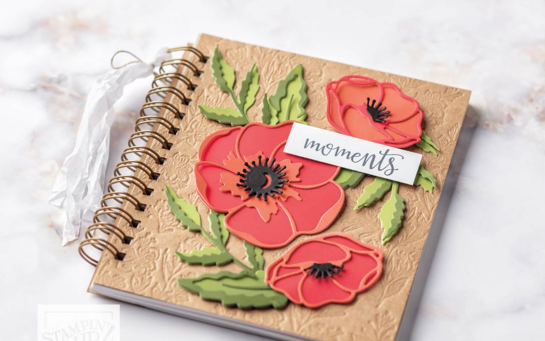 Peaceful Poppies Gratitude Journal