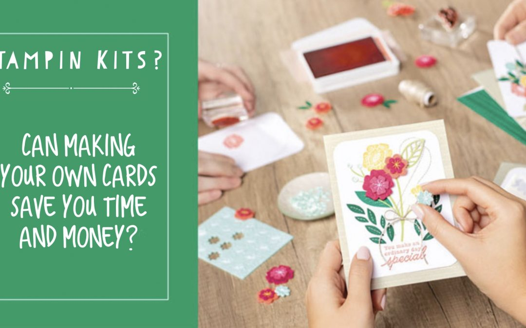 Can making your own cards really save you time and money?