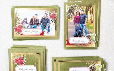 Making Holiday Cards….the Easy Way!