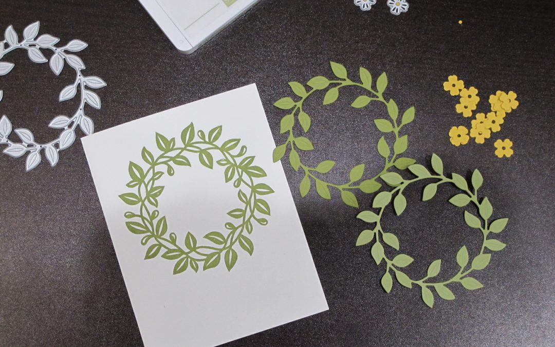 Arrange a Wreath Card